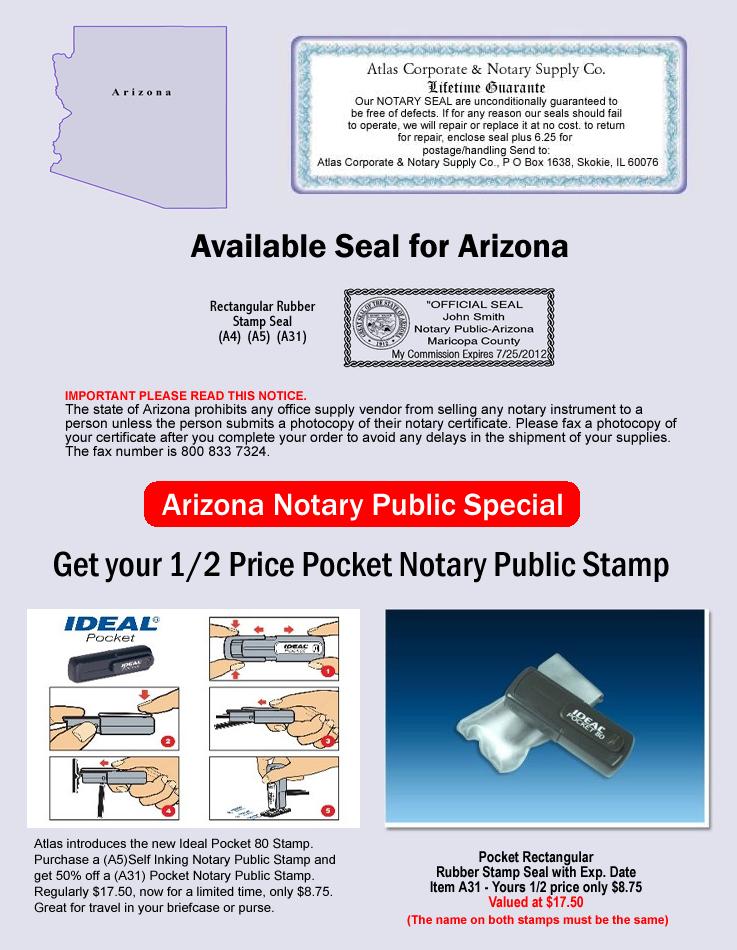 Arizona Notary Supply
