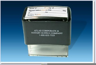 A45 - Acknowledgment Stamp Self Inking