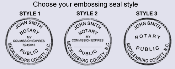 Required Enter Your County As It Appears On Notary Commission Expiration Date If You Choose Style 1 EZ Seal